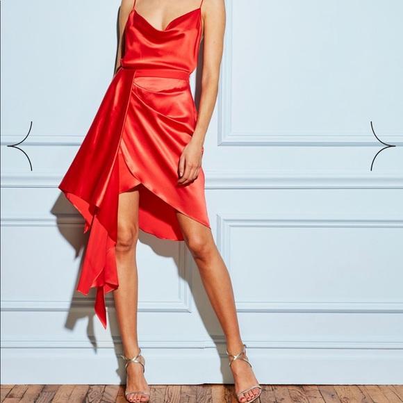 8962e85f0e37ca Fleur Du Mal Dresses & Skirts - Fleur du Mal Red Dress